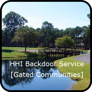 Hilton Head Island Trash Collection - Gated Communities